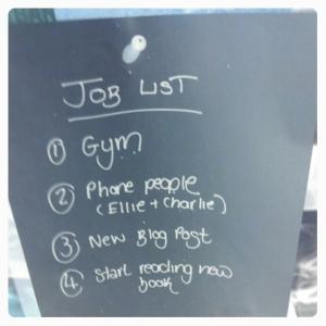 Today's Job List