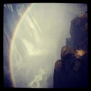 Victoria Falls Rainbow; taken by me!
