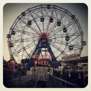Coney Island NYC; By me! 2011.
