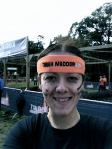 Me after doing the Tough Mudder obstacle course for Help for Heroes this summer.