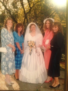 My family (my mom is the bride)